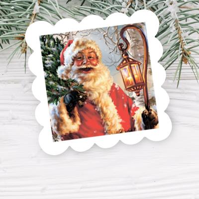 """Мыло волнистое """"Дед Мороз"""""""