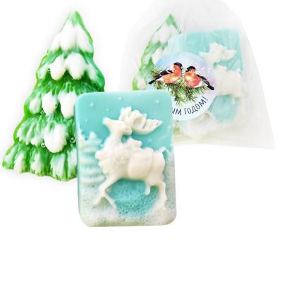 """Набор мыла """"Снежный олень"""""""