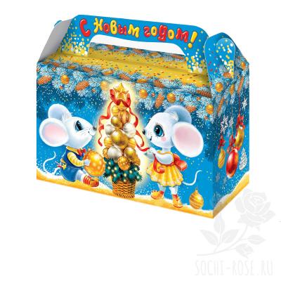 "Коробка ""Новогодние мышки"""
