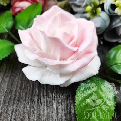 """Мыло фигурное """"Белая  роза"""""""