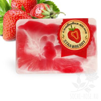 """Мыло брусковое  """"Strawberry"""""""